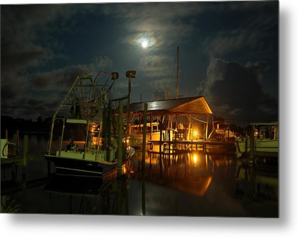 Super Moon At Nelsons Metal Print