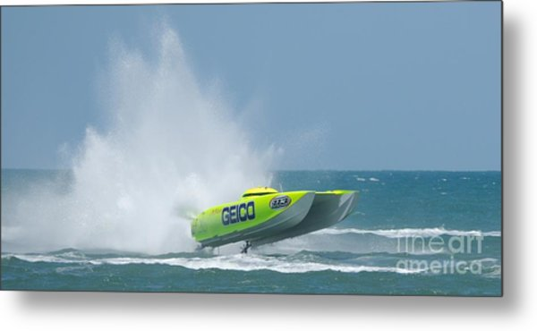 Superboats - Miss Geico Metal Print