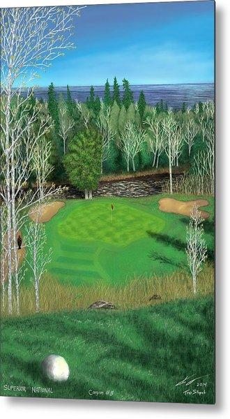 Superior National Golf Canyon 8 Metal Print