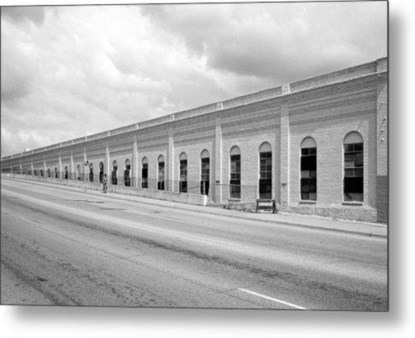 Superior Plating Building Metal Print
