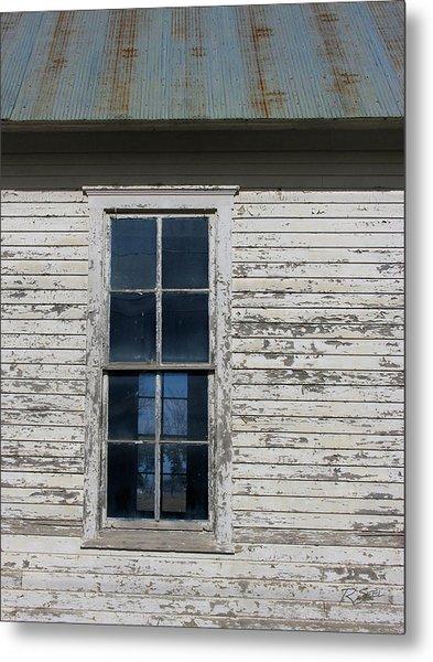 Superior Schoolhouse Window Metal Print