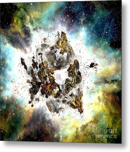 Supernova Metal Print by Bernard MICHEL