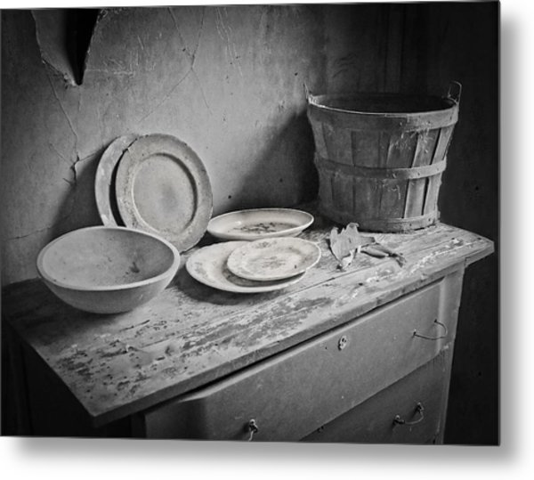 Suppers Gone By 2 Metal Print by EG Kight