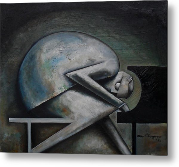 Supposition Metal Print by Martel Chapman