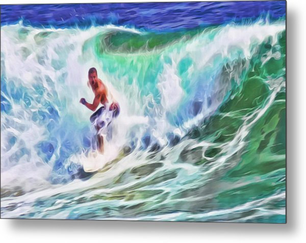 Surfin Usa Metal Print