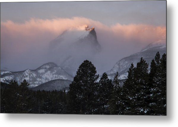 Surmounting The Dawn Metal Print