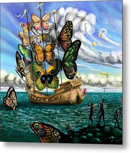 #surreal For #monkeysidebars . My Metal Print