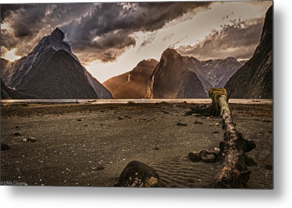 Surreal Milford Metal Print
