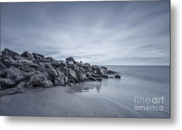 Surrender To The Sea Metal Print