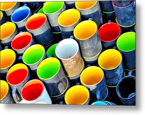 Surrounded By Greed Metal Print