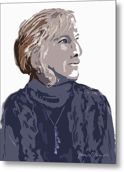 Susan R. Metal Print