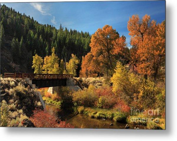 Susan River Bridge On The Bizz 2 Metal Print