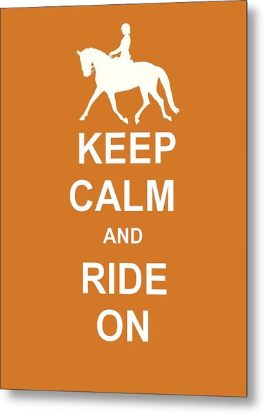 Suspension Keep Calm Metal Print by JAMART Photography