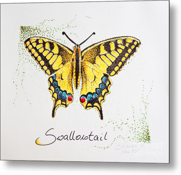 Swallowtail - Butterfly Metal Print