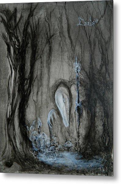 Swamp Shaman Metal Print