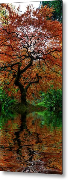 Swamped Japanese Metal Print