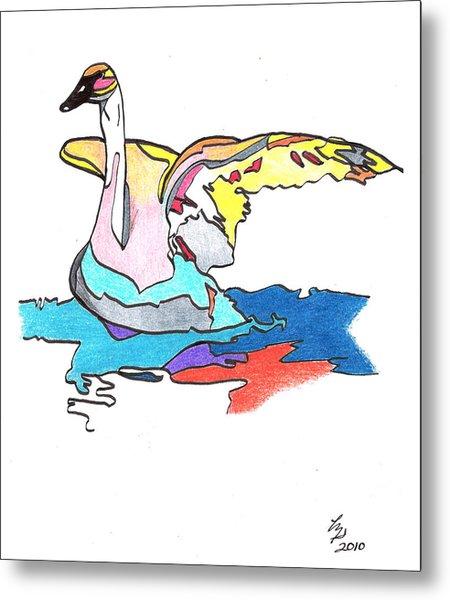 Swan2010 Metal Print