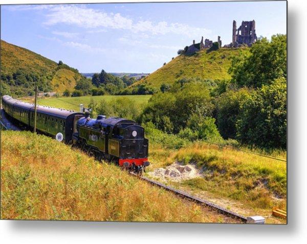 Swanage Steam Railway Metal Print