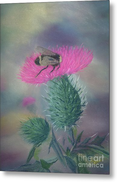 Sweet And Prickly Metal Print
