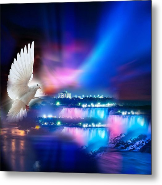 Sweet Holy Spirit Metal Print