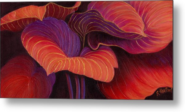 Metal Print featuring the painting Sweet Tarts by Sandi Whetzel
