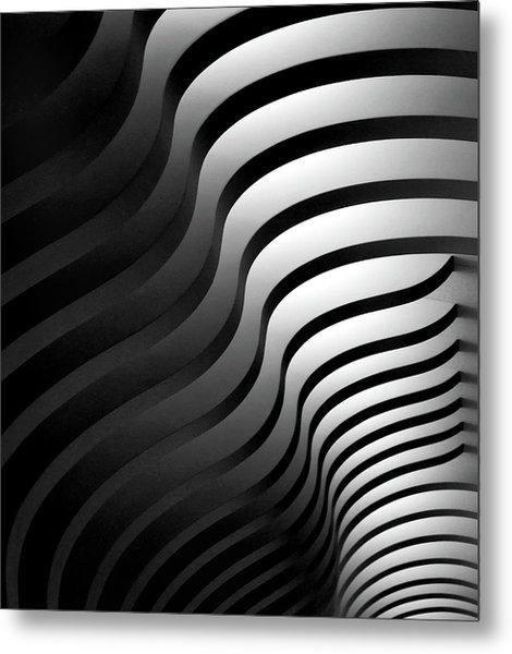 Swinging Lines Metal Print
