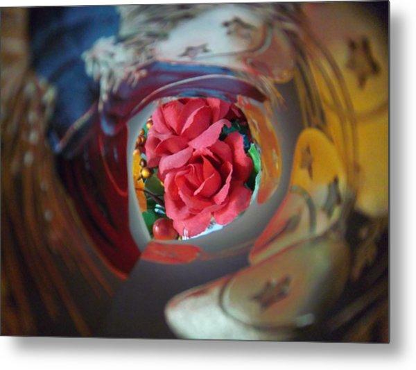 Swirl Metal Print by Rosalie Klidies