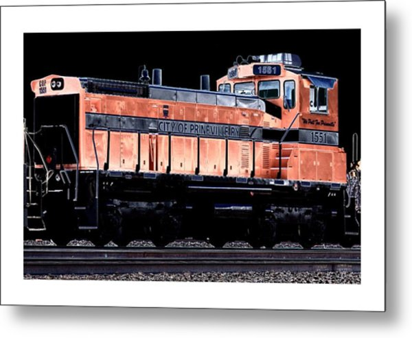Switch Engine Metal Print