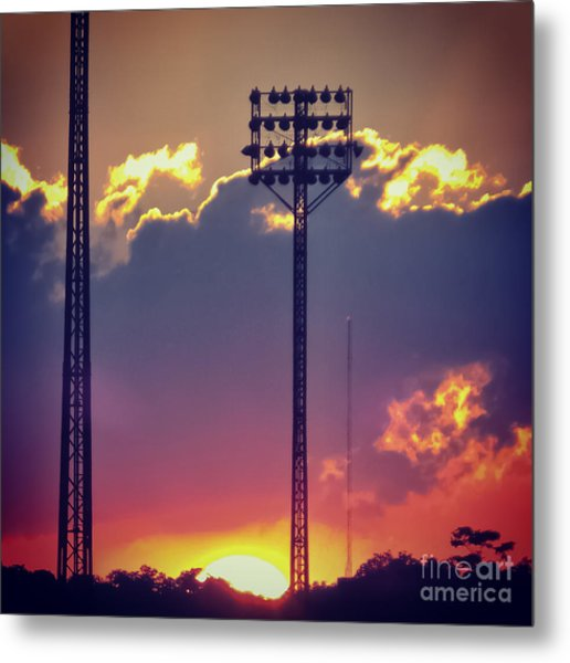 Switching Shifts Metal Print