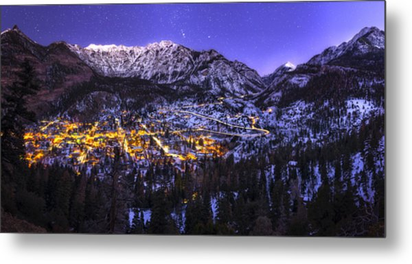 Switzerland Of America Metal Print