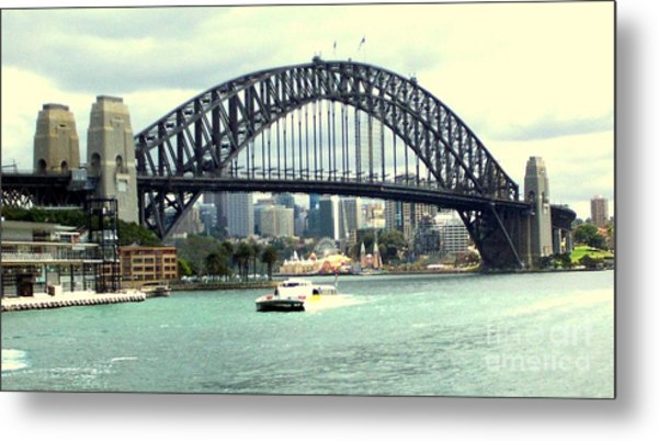 Sydney Bridge Metal Print by John Potts