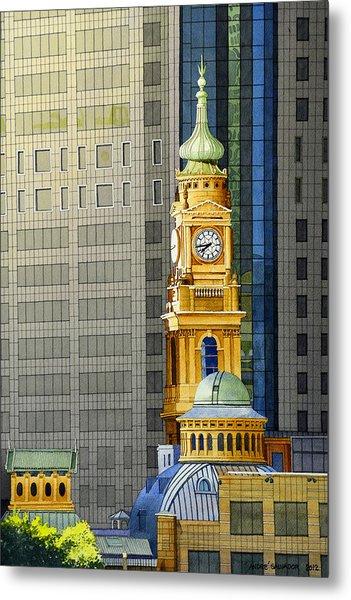 Sydney Clock Tower Metal Print