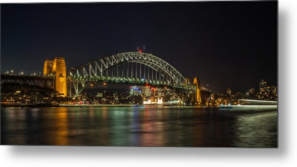 Sydney Harbour Bridge 2 Metal Print by Dasmin Niriella