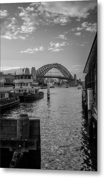 Sydney Harbour  Metal Print by Dasmin Niriella