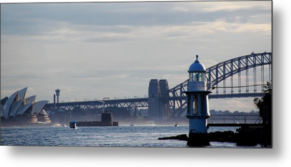 Metal Print featuring the photograph Sydney Harbour by Debbie Cundy