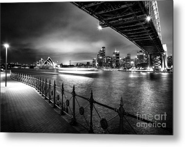 Sydney Harbour Ferries Metal Print