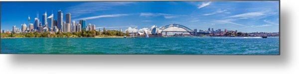 Sydney Harbour Skyline 1 Metal Print