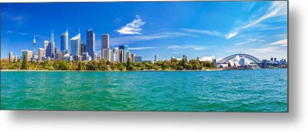 Sydney Harbour Skyline 3 Metal Print