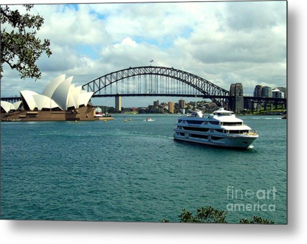 Sydney Opera House Metal Print by John Potts