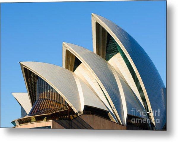Sydney Opera House Roof Metal Print