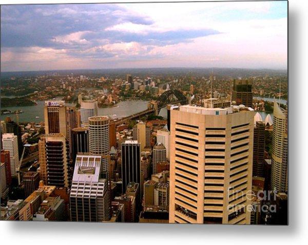 Sydney Skyline Metal Print by John Potts