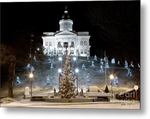Sylva Courthouse 2012 Metal Print