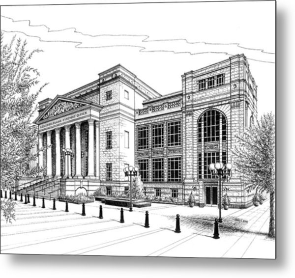 Symphony Center In Nashville Tennessee Metal Print