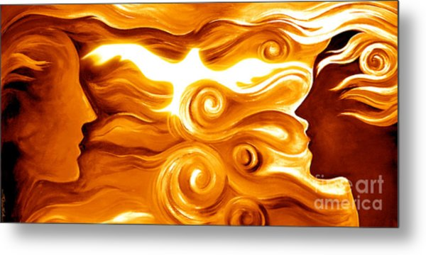 Synergy In Love Metal Print