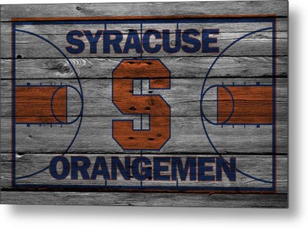 Syracuse Orangemen Metal Print