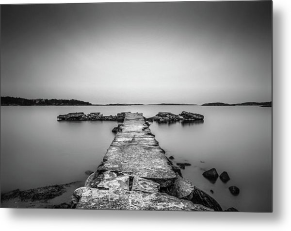 T Metal Print by Benny Pettersson