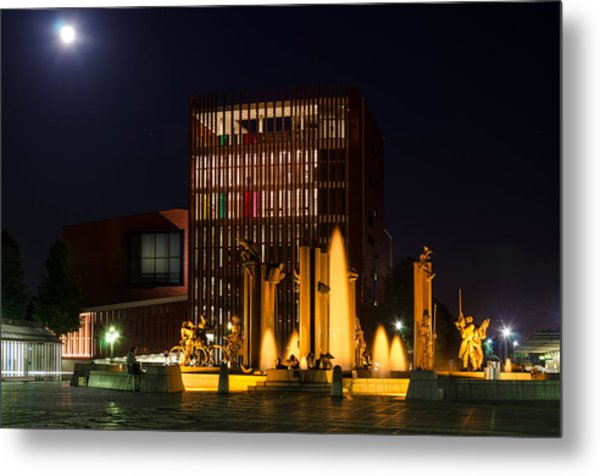 t Zand at night Metal Print