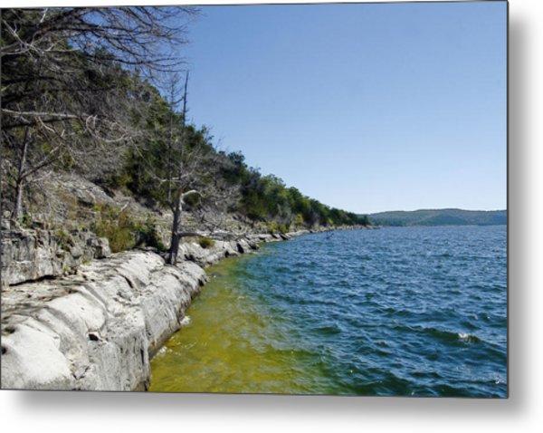 Table Rock Lake Shoreline Metal Print