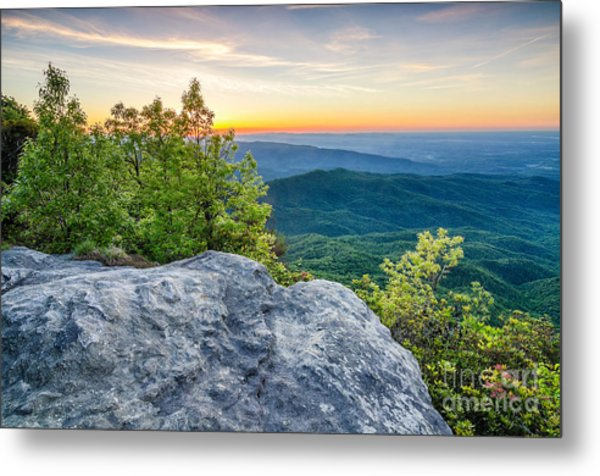 Table Rock Predawn Metal Print