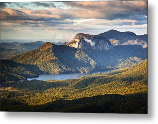 Table Rock Sunrise - Caesars Head State Park Landscape Metal Print